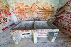 Là où le corps de Che Guevara a été montré après la mort Photographie stock libre de droits