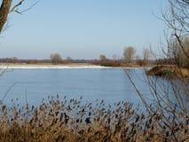 Là où le Danube embrasse le ciel Photo libre de droits