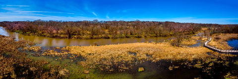 Là ` s una curvatura nel mio fiume Fotografia Stock Libera da Diritti