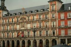 Lá também chuvas na Espanha foto de stock