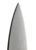Lámina de cuchillo de cocina fotos de archivo