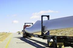Lámina de turbina de viento imágenes de archivo libres de regalías