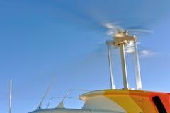 Lámina giratoria del helicóptero foto de archivo libre de regalías