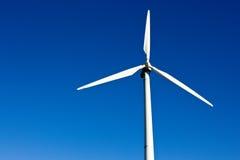 Láminas de propulsor de la turbina de viento fotografía de archivo