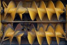 Láminas del ventilador de nieve Foto de archivo libre de regalías