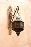 Lámpara árabe clásica vieja Imágenes de archivo libres de regalías