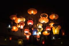 Lámpara árabe retra fotografía de archivo