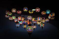 Lámpara árabe retra imagen de archivo libre de regalías