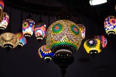 Lámpara árabe retra fotos de archivo