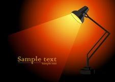 Lámpara stock de ilustración