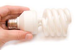 Lámpara ahorro de energía Imágenes de archivo libres de regalías