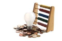 Lámpara ahorro de energía imagen de archivo