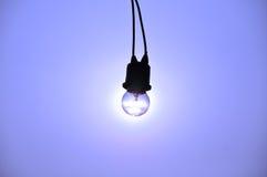 Rayo de sol en lámpara Imagenes de archivo