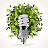 Lámpara ahorro de energía ligera Imagenes de archivo