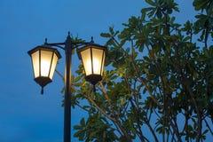 Lámpara al aire libre Imágenes de archivo libres de regalías