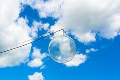 Lámpara al aire libre durante luz del día - imágenes de archivo libres de regalías