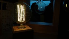 Lámpara asombrosa Imágenes de archivo libres de regalías