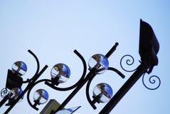 Lámpara azul Fotos de archivo