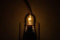 Lámpara brillante Imagen de archivo libre de regalías