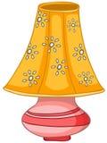 Lámpara casera de la historieta Fotografía de archivo