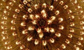 Lámpara casera de los interiores en techo Imágenes de archivo libres de regalías