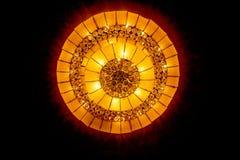 Lámpara casera de los interiores en techo Fotos de archivo