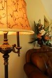 Lámpara casera de lujo Imagen de archivo