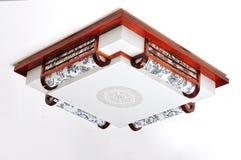 Lámpara china del techo Imagen de archivo libre de regalías
