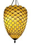 Lámpara colgante del art déco Fotografía de archivo libre de regalías
