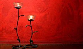 lámpara color de rosa 2 Fotografía de archivo libre de regalías