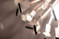 Lámpara con los cristales Fotos de archivo