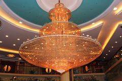 Lámpara cristalina Fotografía de archivo libre de regalías