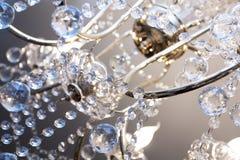 Lámpara cristalina Fotos de archivo libres de regalías