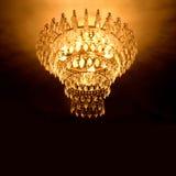 Lámpara cristalina Imágenes de archivo libres de regalías