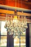 Lámpara cristalina del vintage (vintage procesado imagen filtrado ef Imágenes de archivo libres de regalías