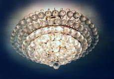 Lámpara cristalina hermosa Imagen de archivo