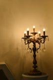 Lámpara cristalina moderna Foto de archivo
