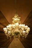 Lámpara cristalina moderna Fotografía de archivo