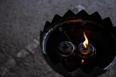 Lámpara de aceite Fotos de archivo