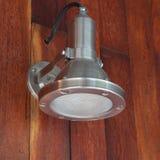Lámpara de aluminio moderna Fotos de archivo libres de regalías