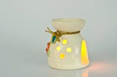 Lámpara de Aromatherapy Foto de archivo libre de regalías