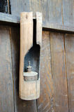 Lámpara de bambú Imagen de archivo