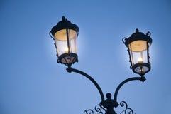 Lámpara de calle Foto de archivo