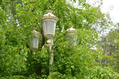 Lámpara de calle Fotos de archivo libres de regalías