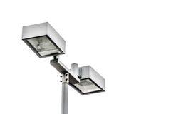 Lámpara de calle aislada Imagen de archivo
