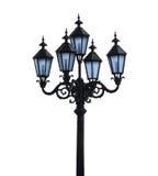 Lámpara de calle aislada Imagenes de archivo