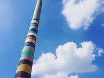 Lámpara de calle colorida Fotografía de archivo libre de regalías