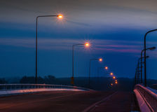 Lámpara de calle de la electricidad Imagen de archivo