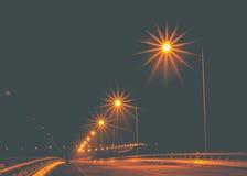 Lámpara de calle de la electricidad Imagenes de archivo