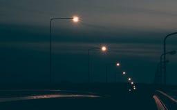 Lámpara de calle de la electricidad Imágenes de archivo libres de regalías